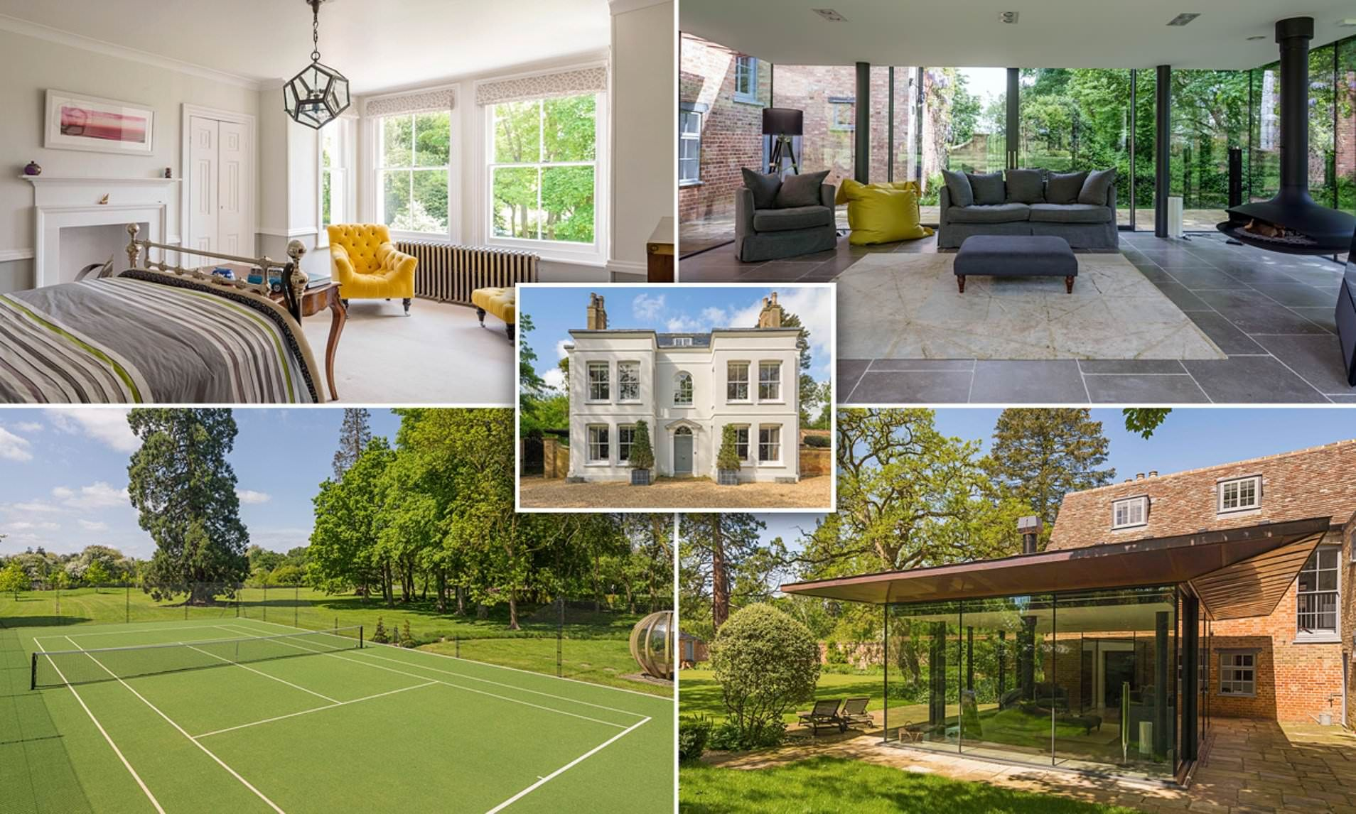 Stunning Georgian Six Bed Home With Modern Twist Hits Market At 2 65m Georgian Homes Millionaire Homes House Styles