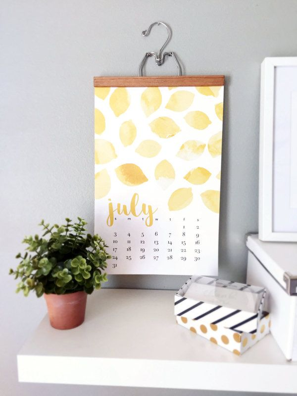 19 Pretty Calendars To Get Your Pumped For The New Year