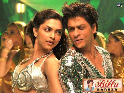 Deepika Padukone & Shahrukh Khan #Bollywood Billu Barber