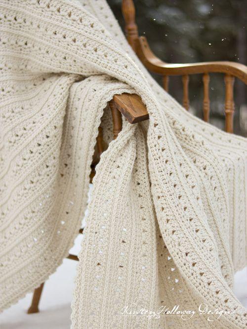 Easy Primrose and Proper Crochet Blanket Pattern - Kirsten Holloway Designs