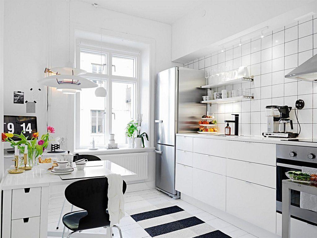 Trucos Para Decorar Cocinas Peque As Decoraci N Red Facilisimo  ~ Como Decorar Una Mesa De Cocina
