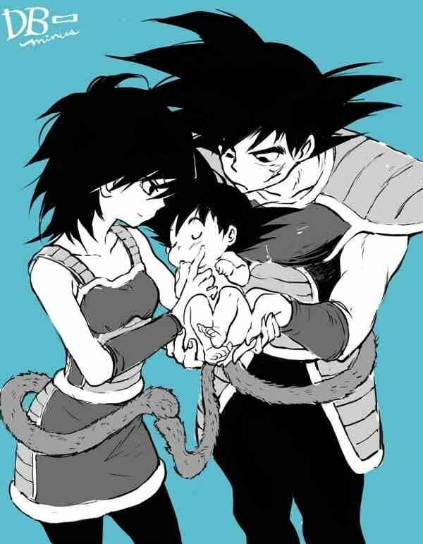 Bardock Gine And Their Newborn Baby Kakarrot My Blog Dragonball Z Dragon Ball Projekte
