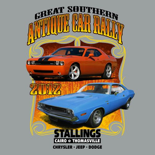 Great Southern Antique Car Rally || KEN YOUNG CO || shirt design ...