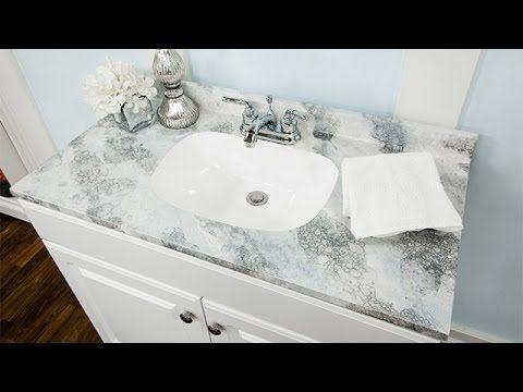 Diy Faux Marble Countertop