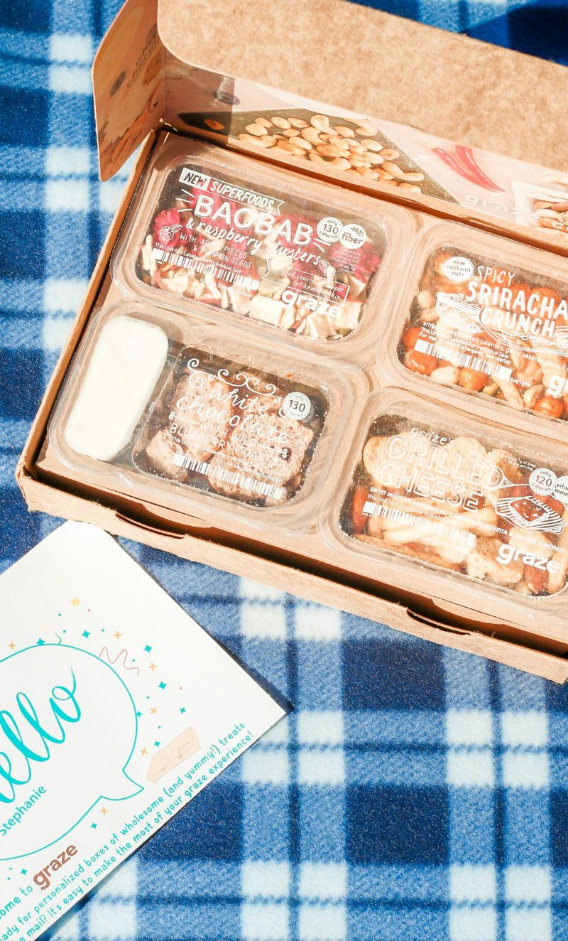 how to snack smarter with graze graze snack box snack box and