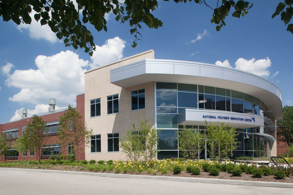 University of akron national polymer innovation center