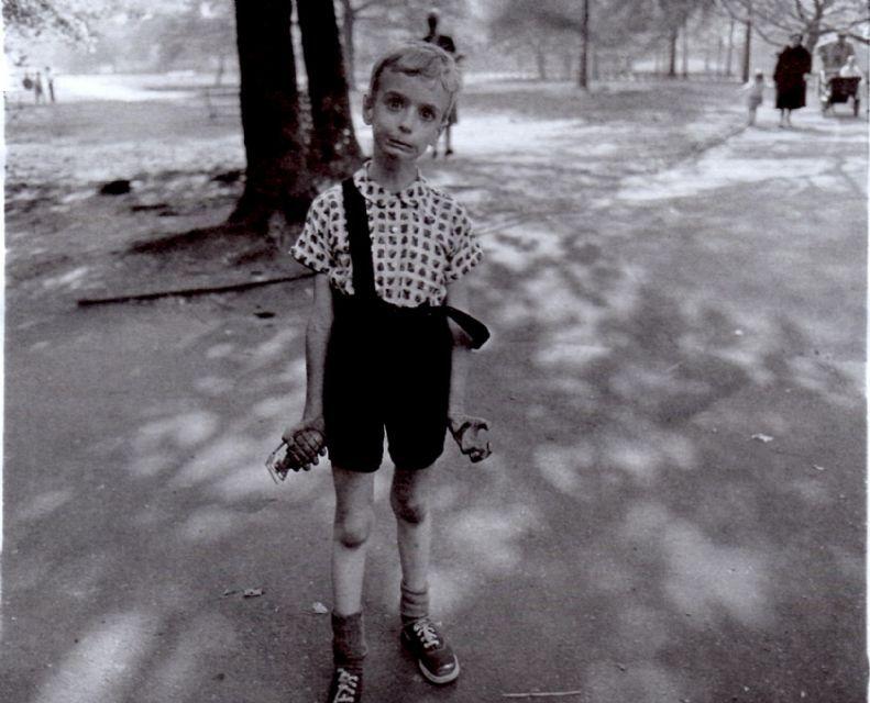 Boy With Toy Hand Grenade Diane Arbus Famous Portrait Photographers Diana Arbus