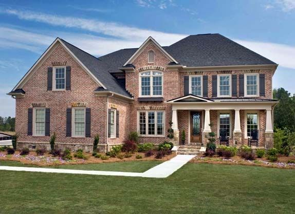 Pictures of houses with stone and brick number for Beautiful brick and stone homes