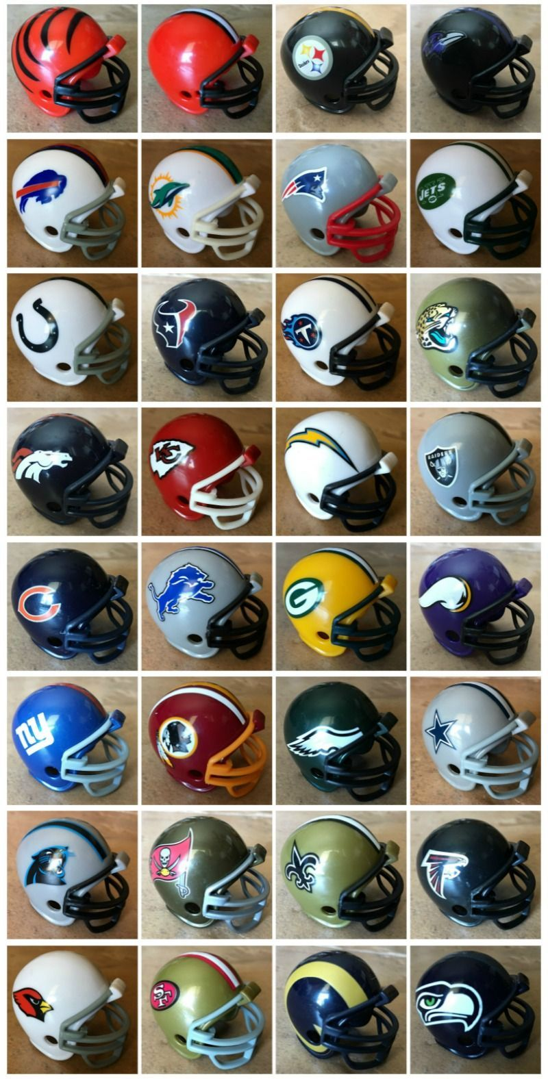 Easiest way to memorize the nfl teams and divisions for a