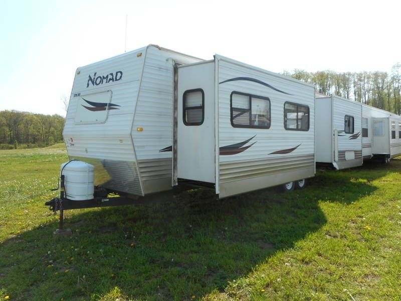 Used 2008 Skyline Nomad 326ltd Travel Trailers For Sale In Peru