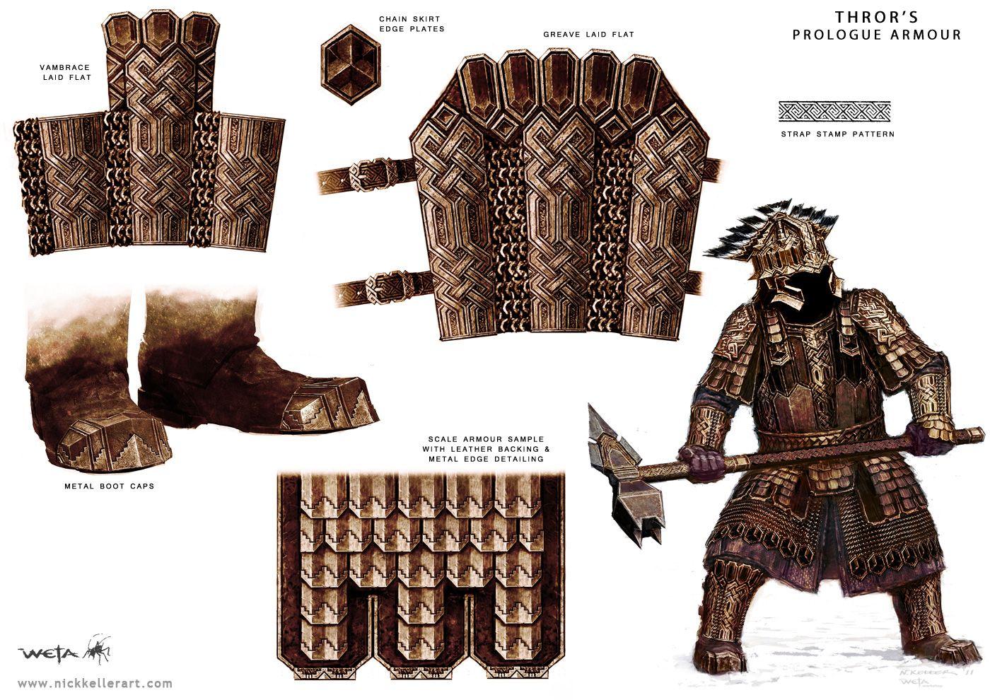 Thror's armour
