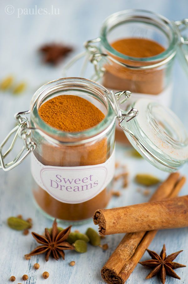 Foodblog Paules Ki T Chen Blog Archiv Sweet Dreams Gewurzmischung Gewurze Diy Geschenke Aus Der Kuche