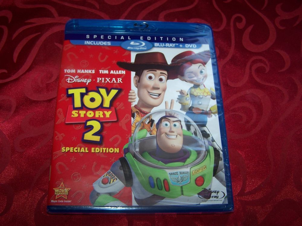 Toy Story 2 Blu Ray Dvd 2010 2 Disc Set Special Edition Brand New Toy Story Dvd Blu Ray