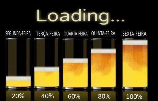 Só Na Sexta Feira Que Eu Bebo Muita Cerveja Este E Outros 20 Memes