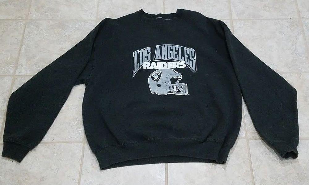 Vintage Los Angeles Raiders Sweatshirt Nfl 1980 S 1990 S Oakland Las Vegas Losangelesraiders Vintage Los Angeles Sweatshirts Raiders