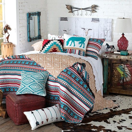 25 best ideas about southwestern bedding on pinterest