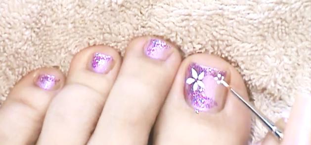 Modelos de pintados de uñas de los pies - Imagui