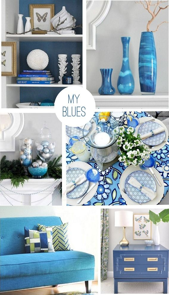 'My Blues' by Censational Girl. Desk Color? Peacock Blue?