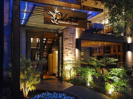 Fachada rustica de restaurante pesquisa google bares for Fachada para restaurante