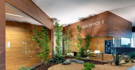 Damilano Studio ontwerpt 'groen' kantoor voor Barra & Barra *Foto: Andrea Martiradonna