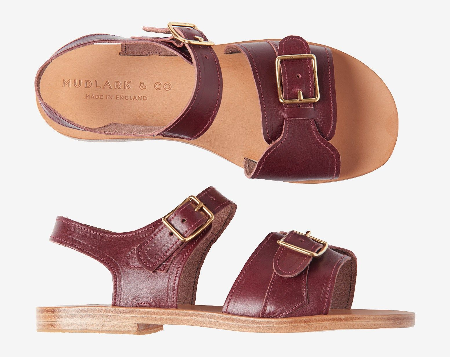63b93a68c41cc MUDLARK SANDAL | Vegetable tanned leather upper with natural nappa ...
