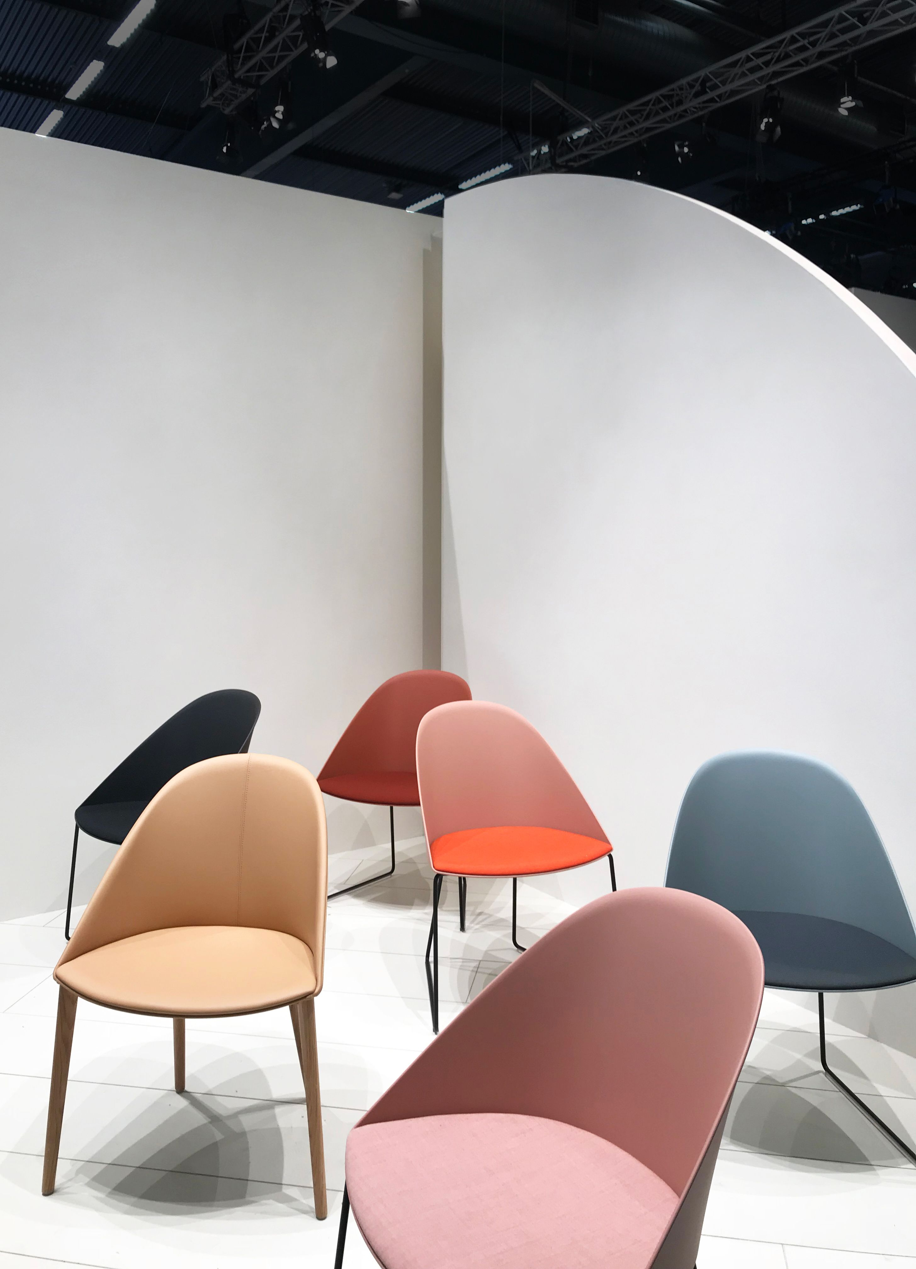 Cila by Arper, designed by LievoreAltherr, as presented