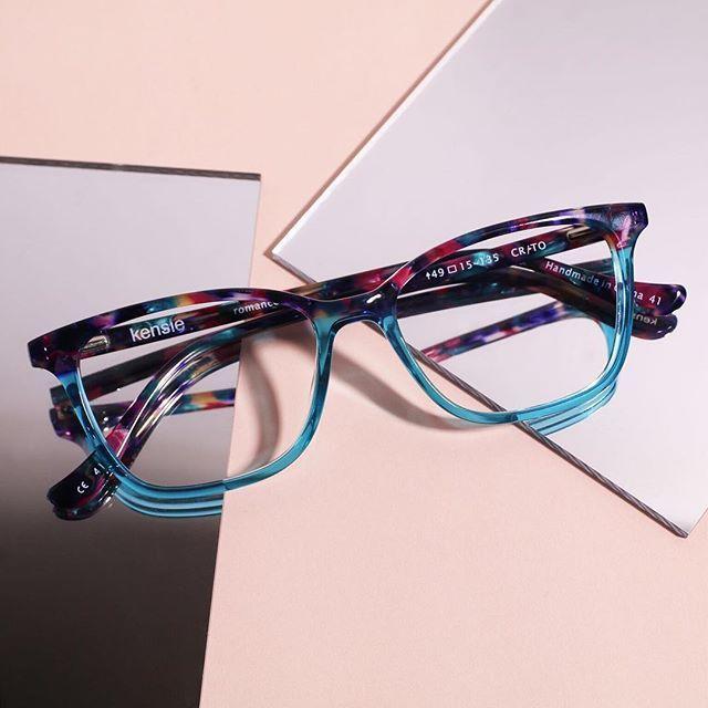 KENSIE Eyeglasses ROMANTIC Aqua 52MM