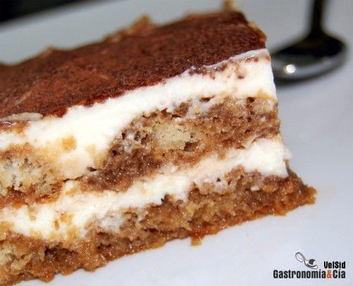 Receta De Tiramisu Facil Receta Tiramisu Receta Gastronomia Receta Torta De Chocolate