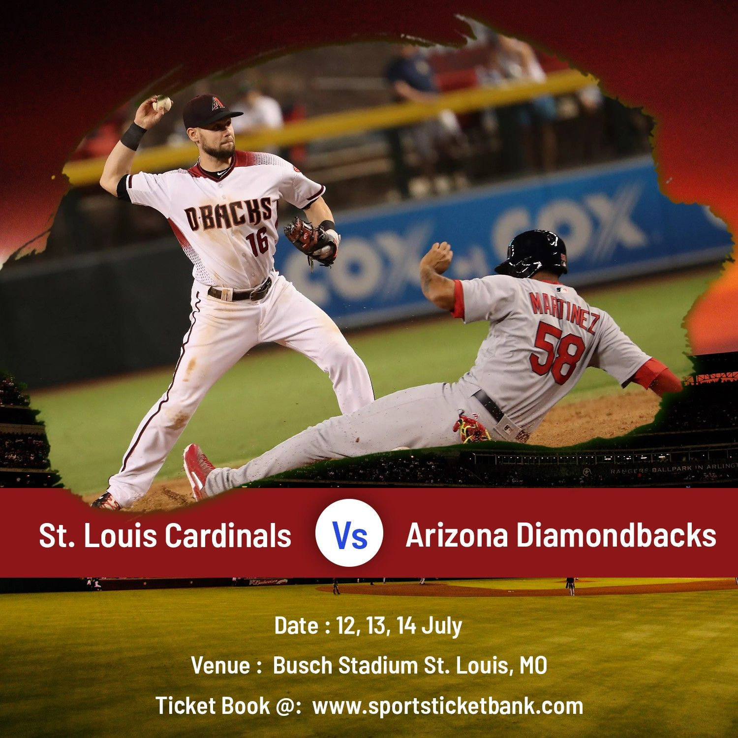 Sports Fans Surely Seem To Be Interesting In Seeing A Cardinals Vs Diamondbacks Game Cardinals Diamondb Diamondbacks Diamondbacks Game Cardinals