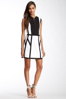 Graphic Spear Dress