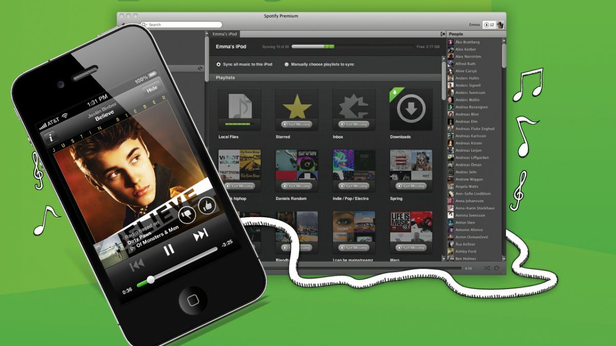 One More Thing Spotify Radio tunes in to mobile apps