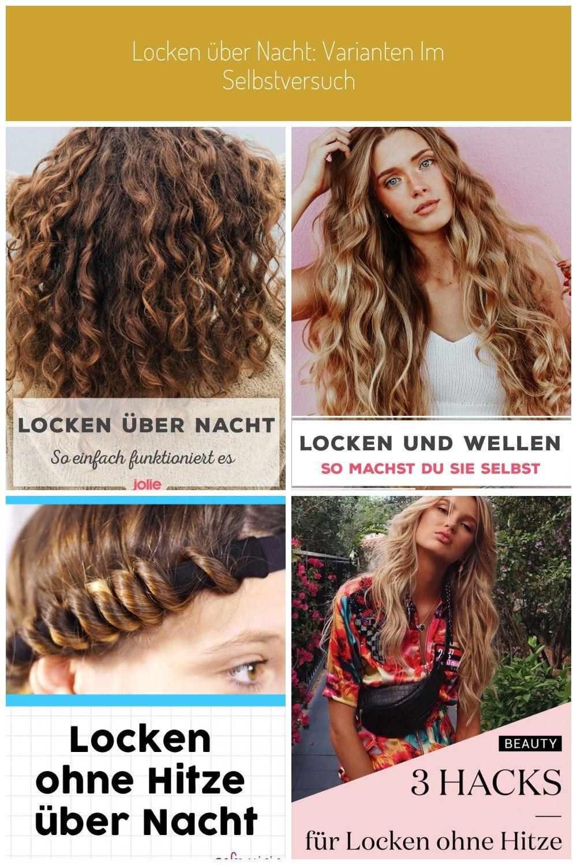 Locken Lockenubernacht Curls Locken Machen Locken Uber Nacht Mit Diesen Frisuren Klappt S Hair Styles Hair Beauty
