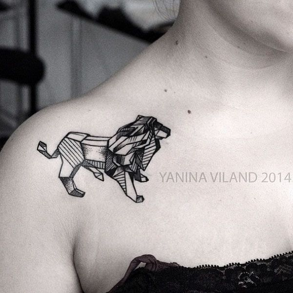 25 Awesome Lion Tattoo Designs For Men And Women Tatouage
