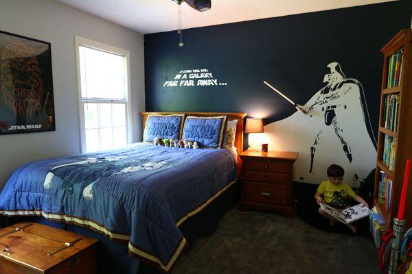 Star Wars Bedroom For A Little Boy Star Wars Room Decor Star Wars Bedroom Decor Star Wars Room