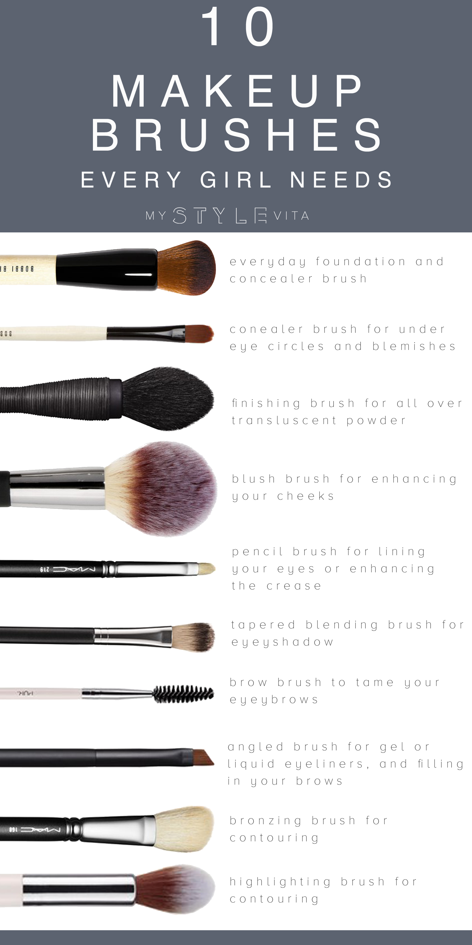 10 Best Makeup Brushes To Have