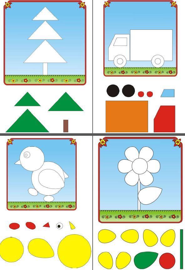 Aprender Las Formas Figuras Geometricas Para Preescolar Actividades De Aprendizaje Del Niño Actividades Para Niños Autistas