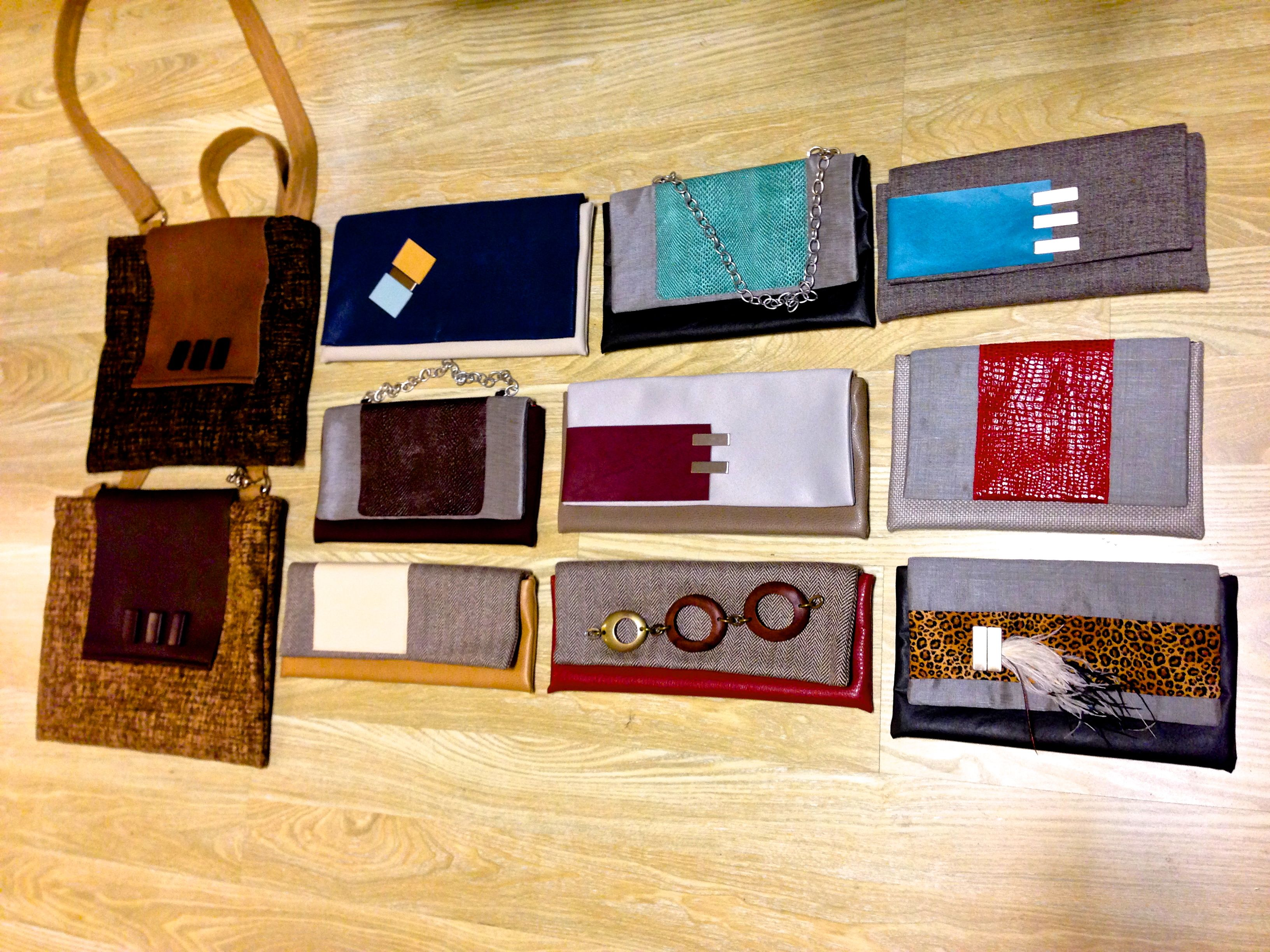 Available at RAG SF - Residents Apparel Gallery.  541 Octavia St, San Francisco, California 94102.  **All thse clutches and bags can be shipped to you**  Call: (415) 621-7718