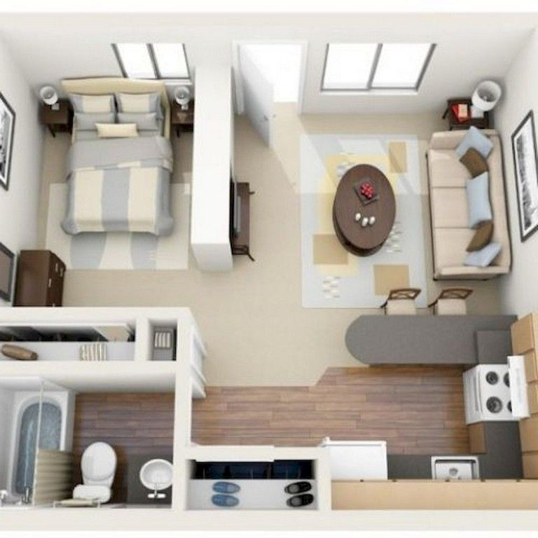 63 Intelgent Studio Apartment Decorating Ideas Studio Apartment Floor Plans Studio Floor Plans Studio Apartment Decorating