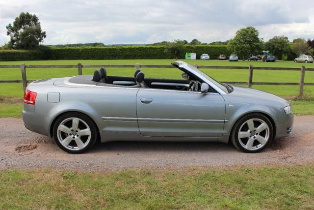 Used Audi A4 Cabriolet 2 0 Tdi S Line 2d 141 Bhp Convertible