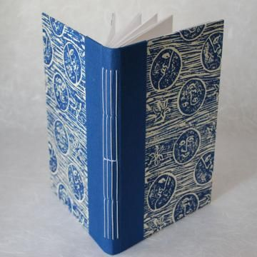 ClayFrogStudio » Blue Moon Covered Journal_Large