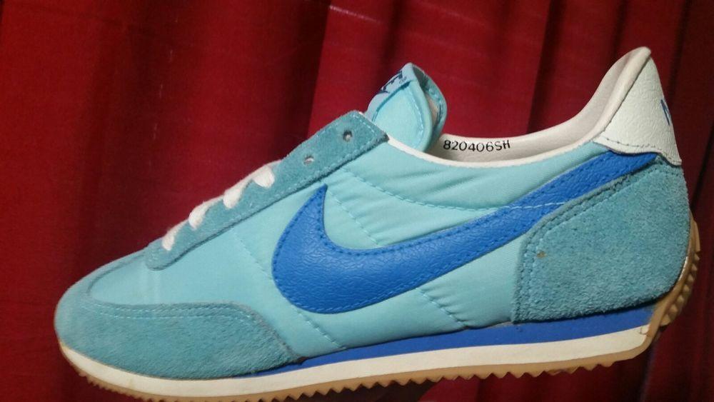 c76c301b Vintage 1982 Nike Women's Running Shoes size 6 Blue Korea Oceania Unworn  HTF OG #Nike #Running