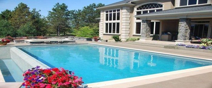 luxus pool eine idee für pool im garten | luxuriöse designs von, Garten und Bauten