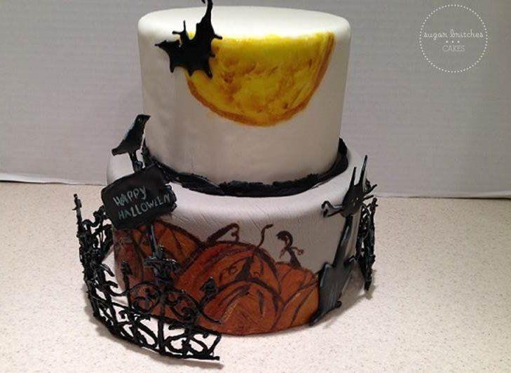 Hallowee Cake - by SugarBritches @ CakesDecor.com - cake decorating website