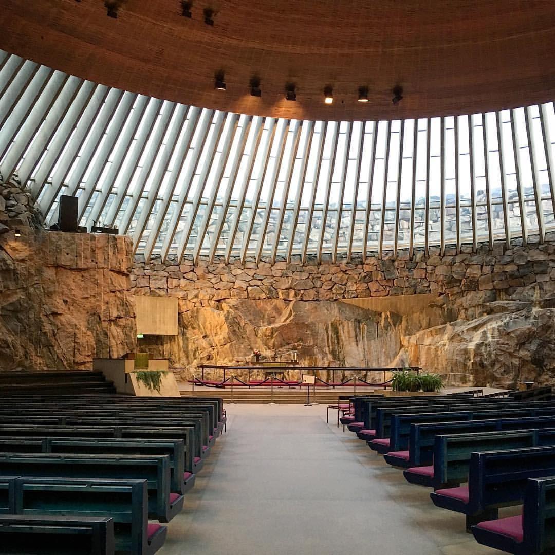 Temppeliaukio Church - Suomalainen