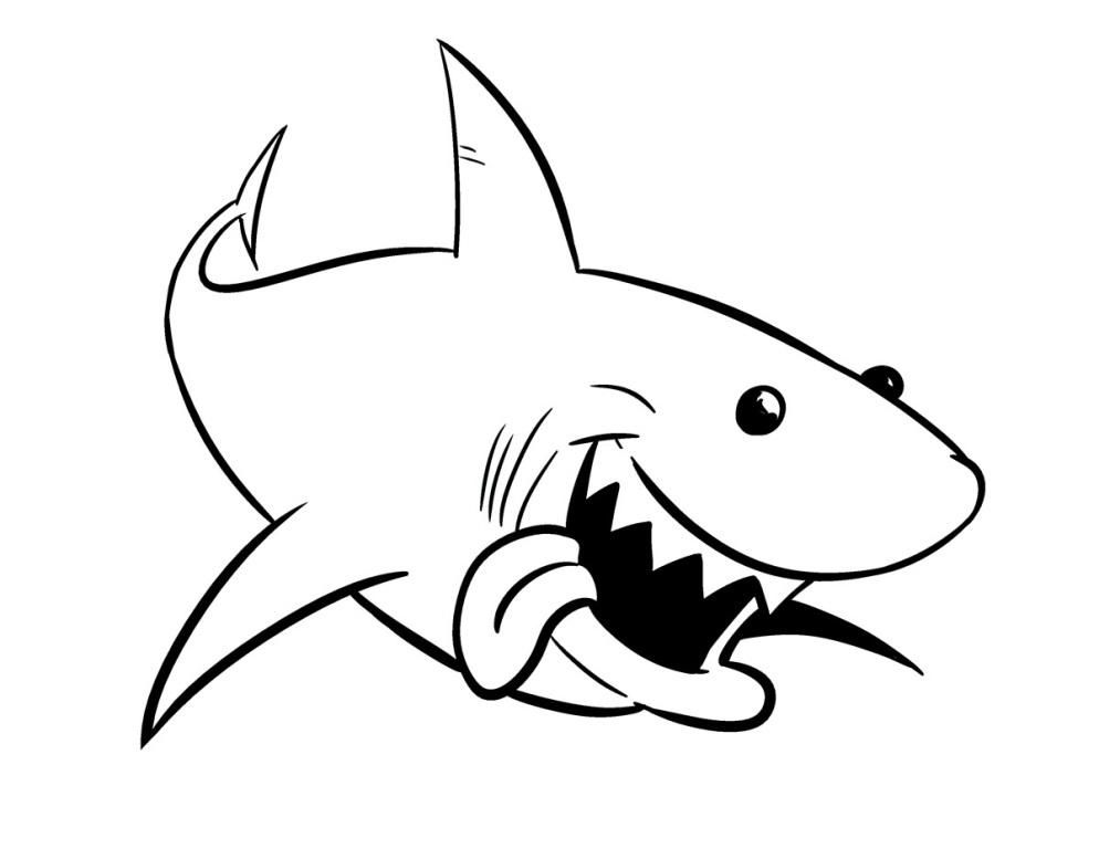 Finding Nemo Coloring Pages Bruce u2026 Pinteresu2026 - fresh coloring pages with multiple animals