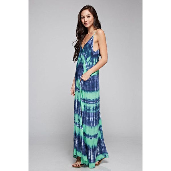 Cocoon Maxi Dress ($69) ❤ liked on Polyvore featuring dresses and maxi dress
