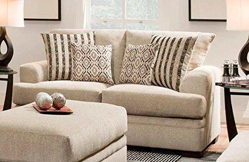Chelsea Home Furniture Calexico Loveseta Cornell Platinum