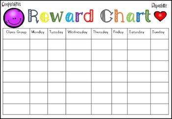 Reward Charts For Home And School By Polly Puddleduck Teachers Pay Teachers Reward Chart Reward Chart Kids Printable Reward Charts