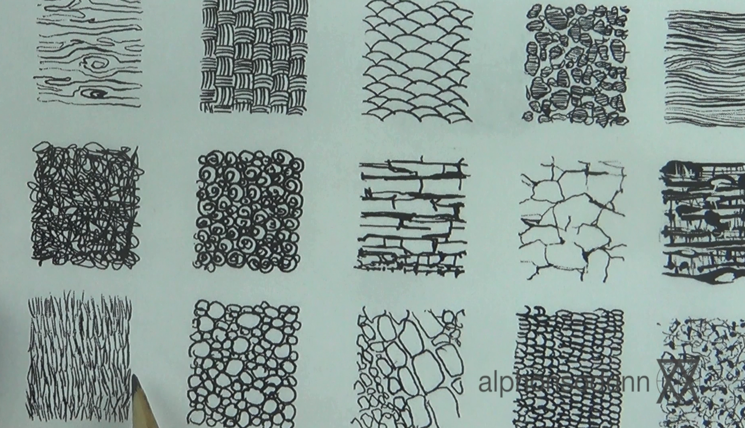 Textures   Warm up Exercises and Textures   Pinterest   Mark making ...