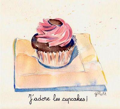 J'adore les cupcakes!